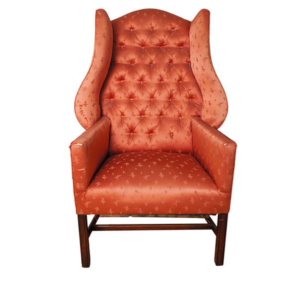 wingback chair design
