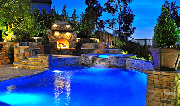 Backyard Pool Desigs source Elegant Design