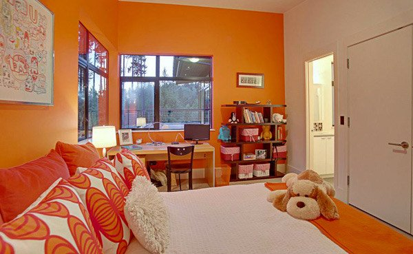 Bedroom Colors Orange 15 orange bedroom designs | home design lover