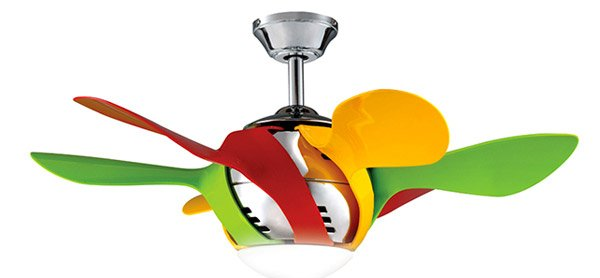 "Harlequin 36"" Kids Ceiling Fan"