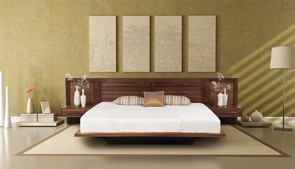Contemporary sectional bedroom