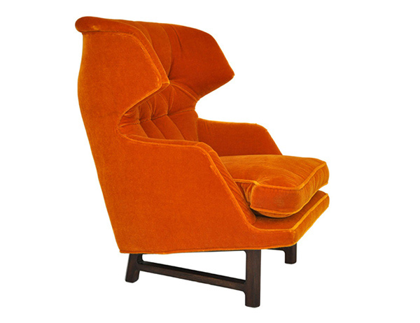 bold orange Chair