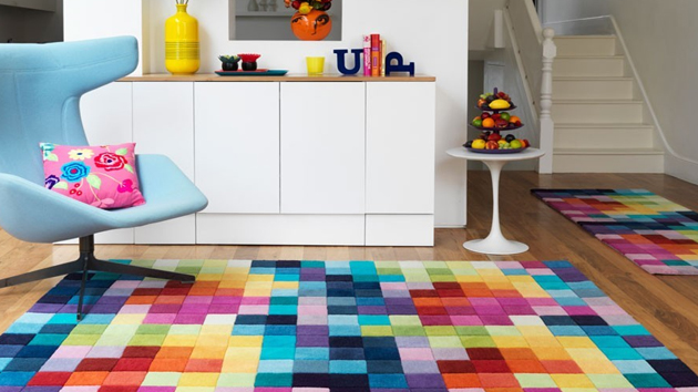 Funky Living Room Rug