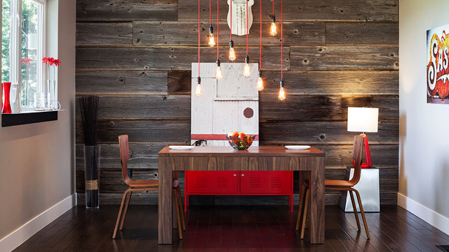 15 Delightful Dining Rooms With Wooden Wall Panels Home Design Lover