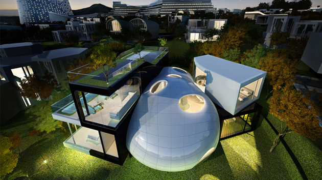 15 Unbelievably Amazing Futuristic House Designs Home