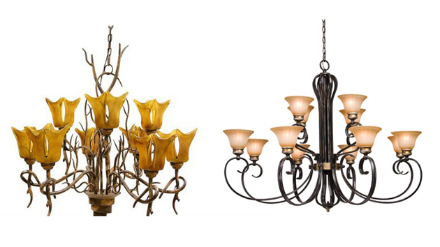 20 wrought iron chandeliers home design lover aloadofball Choice Image