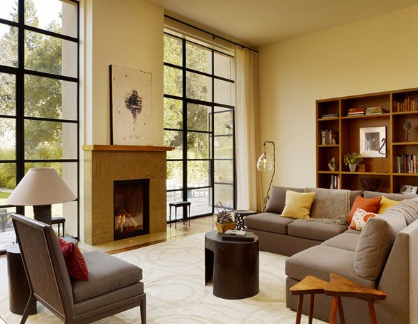 15 Pretty Living Room Windows | Home Design Lover