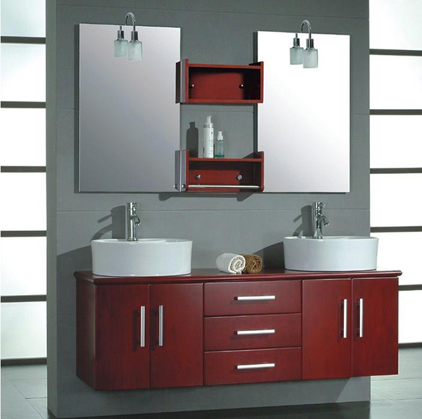 Double Sink Bathroom