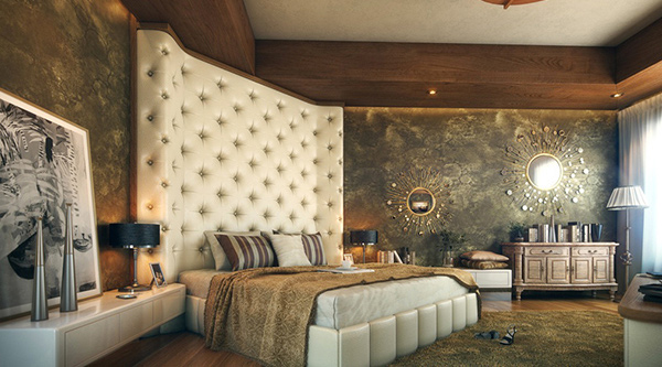 Elaborate Opulence in 20 Luxurious Bedroom Designs | Home ...