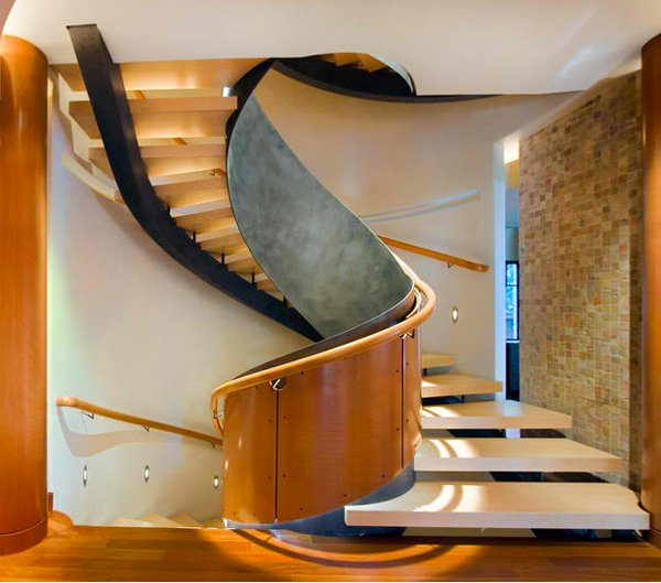 Staircase Decorating Ideas With Modern Design: 15 Residential Staircase Design Ideas
