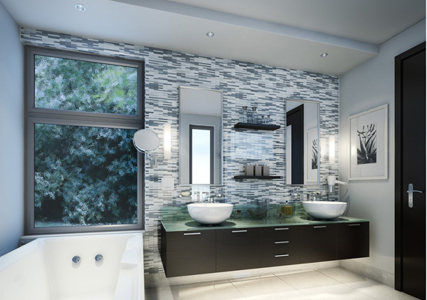Contemporary Bathroom elements