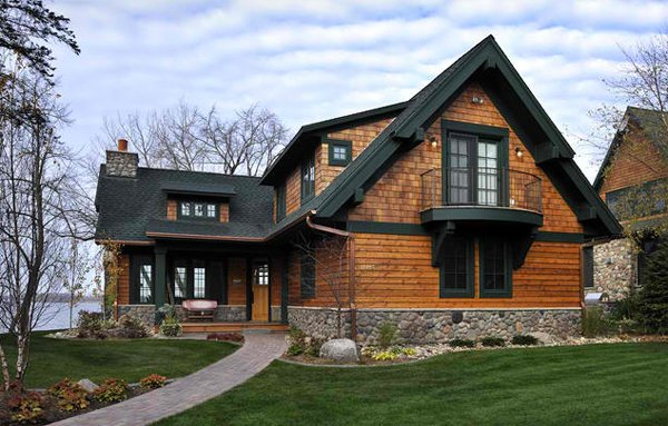20 different exterior designs of country homes home Lake house builders