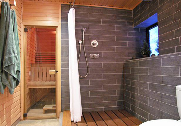 wooden bathroom materials