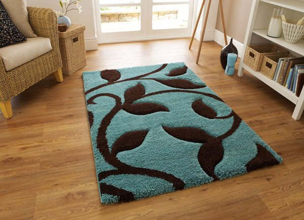 Fashion Rug 7647 Blue Brown