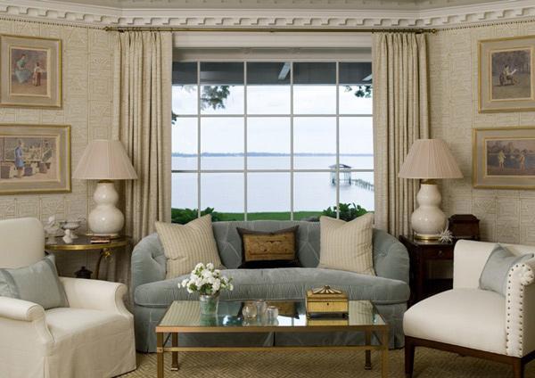 Beach Tranquil Living Room