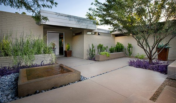 15 Modern Hardscapes Using Concrete Home Design Lover