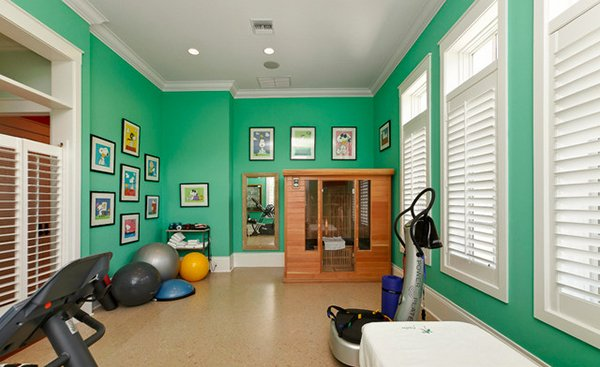 home gym ideas - In Home Gym Designs