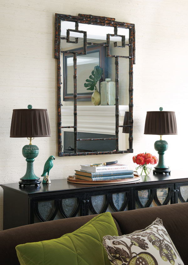 Vignette And Earthly Living Room
