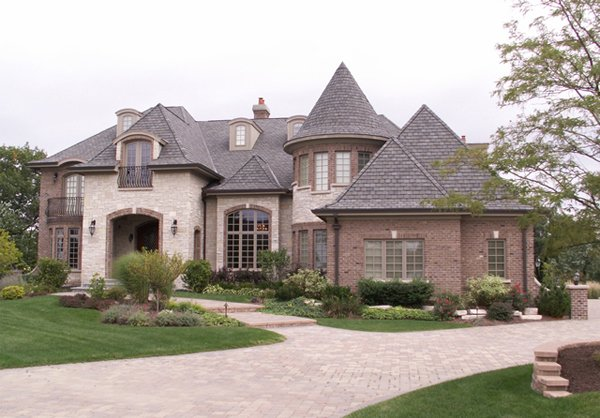 20 different exterior designs of country homes home for Modern french country house plans