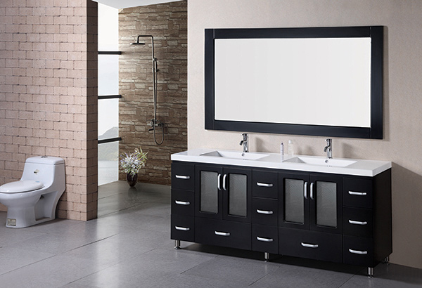 Modern Double Sink Bathroom Vanities. 54\\ Modern Double Sink ...