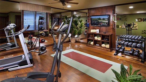 traditional home gym