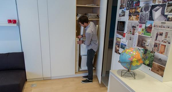 Cabinets Tiny Apartment