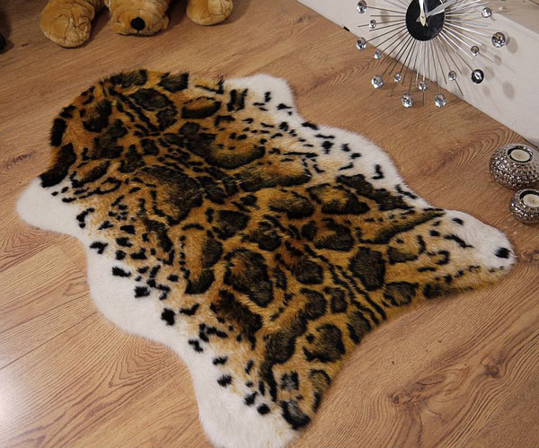 Snow Leopard Animal Print