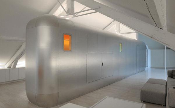 futuristic cabinet design