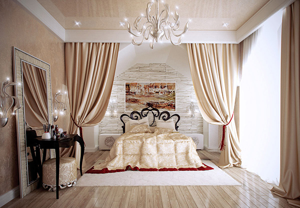 Bedroom in a Private Home