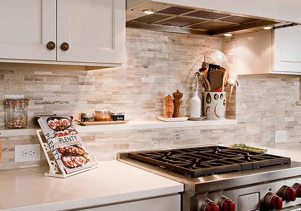 48 Beautiful Kitchen Backsplash Ideas Home Design Lover Custom Backsplash For Bianco Antico Granite Ideas