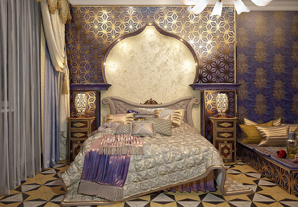 Elaborate opulence in 20 luxurious bedroom designs home for Bedroom designs royal