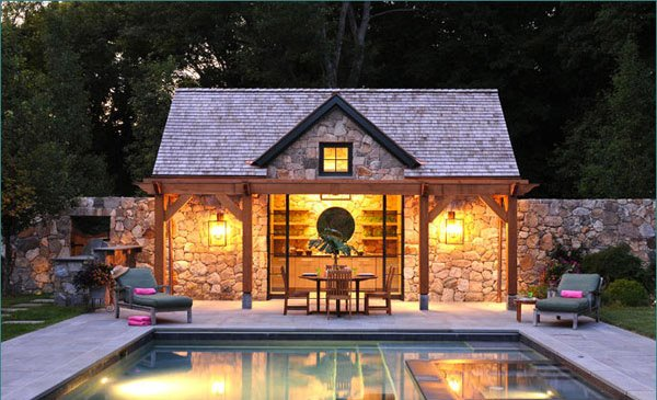 16 Fascinating Pool House Ideas | Home Design Lover
