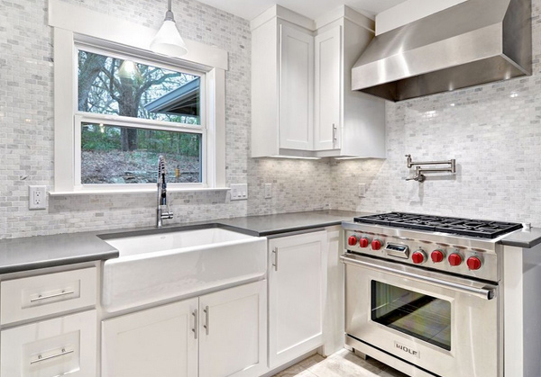 pictures of white kitchen cabinets with backsplashes 15 interesting backsplash tile designs home design lover 24714