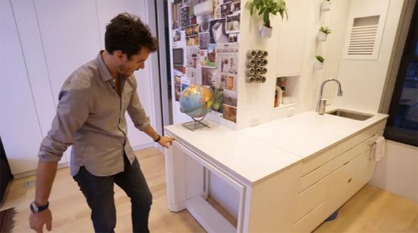 Dining Kitchen Tiny Apartment