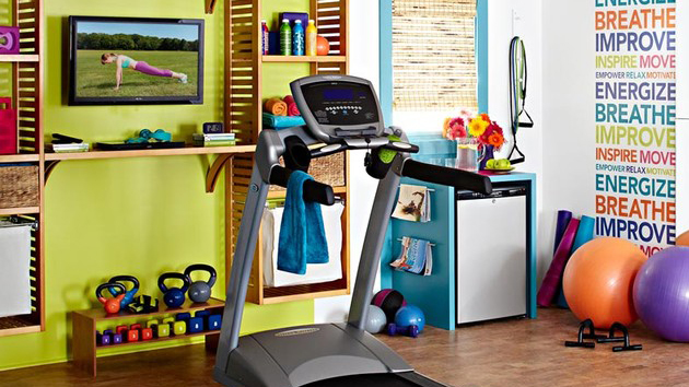 15 cool home gym ideas home design lover - Home Gym Ideas