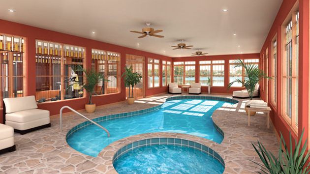 Residential Indoor Swimming Pools 20 amazing indoor swimming pools | home design lover