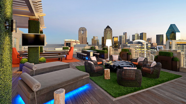 15 modern and contemporary rooftop terrace designs home for Interior design rooftop terrace