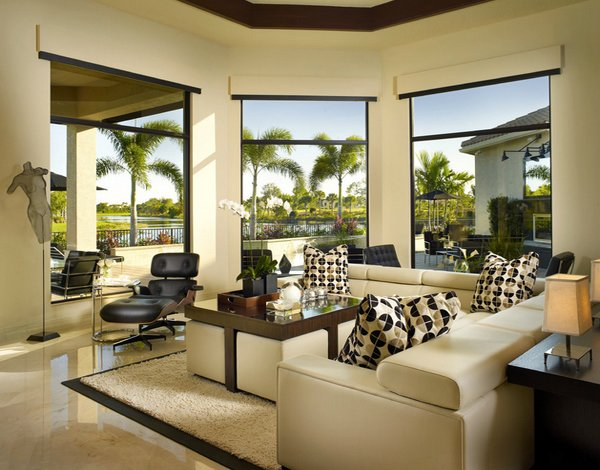 20 gorgeous living room furniture arrangements home for Gorgeous living rooms