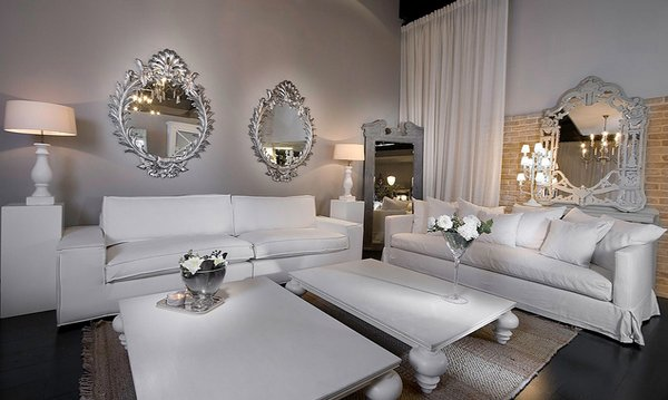 15 interior design ideas of luxury living rooms home for Glam modern living room