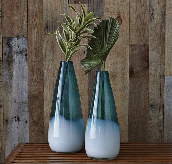 Dipped Seaside Vases