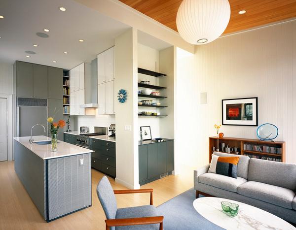 High-gloss cabinet