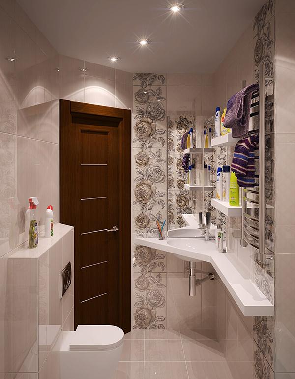 Bathroom russia
