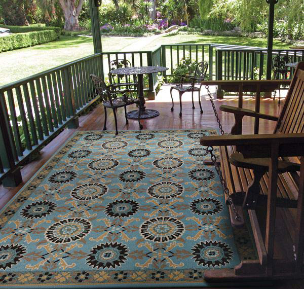 Suncrest Pattern Outdoor Rug