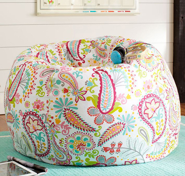 15 Lovely Printed Bean Bag Chairs Home Design Lover