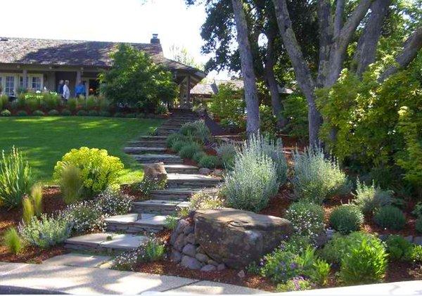15 inspiring designs of garden stairs home design lover - Mountain garden landscaping ideas ...