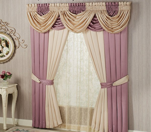 waterfall valance pattern 15 different valance designs home design lover 5693