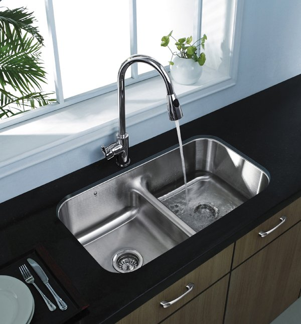 Double Basin Undermount Stainless Steel Kitchen Sink