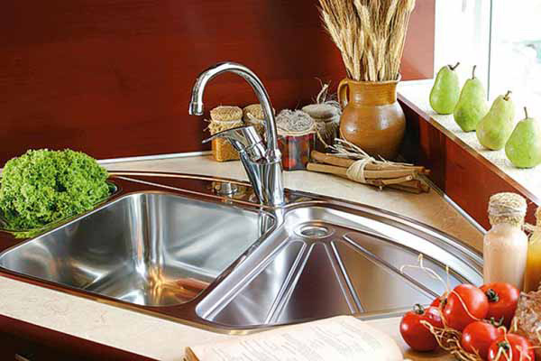 💙 15 Cool Corner Kitchen Sink Designs | Home Design Lover