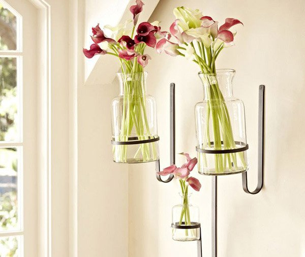 Wall-Mount Vases