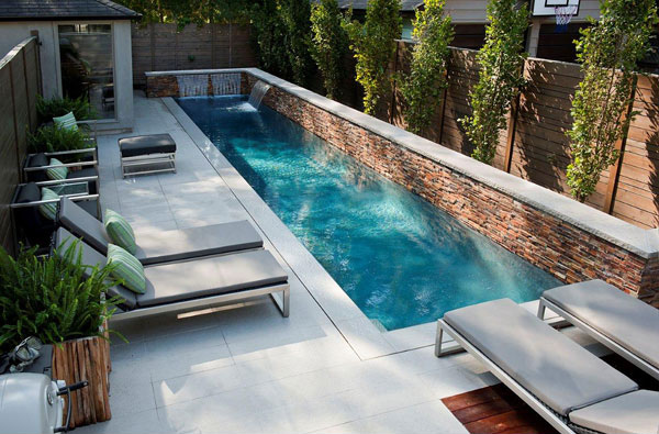 Charming Small Lap Pool